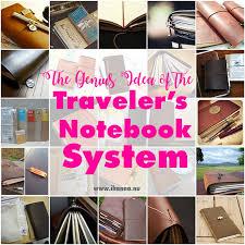 midori traveler s notebook system