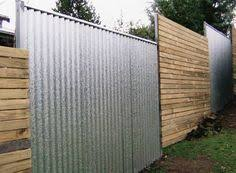 Marisolinaustin Marisolinaustin Corrugated Metal Fence Fence Design Backyard Fences