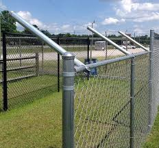 Extend A Post Extensions For Chain Link Fence Set Of 9 Chain Link Fence Dog Proof Fence Dog Fence