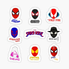 Iron Spider Stickers Redbubble