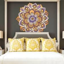 Full Color Wall Decal Mandala Model Map From Amazon Full Color