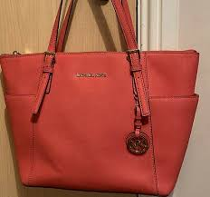 large saffiano leather top zip tote bag