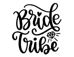Diy Bride Tribe Decal Bride Tribe Bridesmaid Decal Wine Glass Decal Wedding Decal Wine Glass Decals Stencil Diy