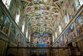sistine chapel ceiling marthavista