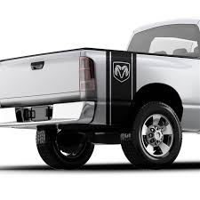 Dodge Ram Head Logo Pickup Truck Bed Band Decal