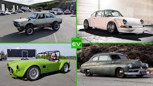 tesla powered electric car conversions