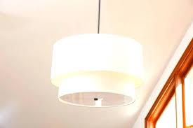drum pendant light off fixture hanging
