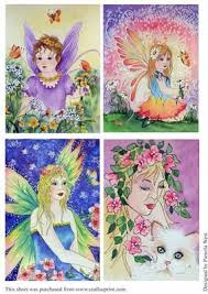 4 Original Watercolours of Fairies by Pamela West (With images) | West art,  Watercolor, Fairy