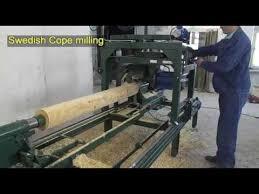 log home milling machine