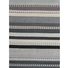 linie design hibiscus runner rug grey