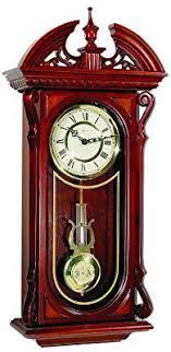 Herml Shenandoah Regulator Clock Sku# 70731N92215: Amazon.co.uk: Kitchen &  Home