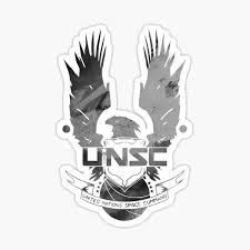 Unsc Halo Star Background Logo Sticker By Themundaneguy Redbubble