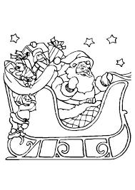 Kleurplaat Kerstslee Gratis Kleurplaten Om Te Printen