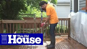How To Restore A Deck This Old House Youtube