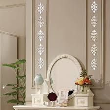 2 8 X 2 8 Inch 10 Pcs Acrylic Mirror Decal Wall Stickers Diy Home Art Decor Wish
