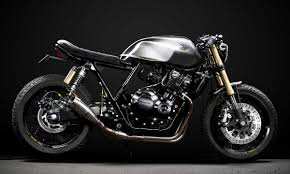 the scout honda cb400 cafe racer