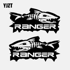 Yjzt 14 7cm 7 4cm 2 Ranger Fish Ute Pair Big Fishing Boat Car Stickers Vinyl Decal Black Silver C24 0406 Car Stickers Aliexpress