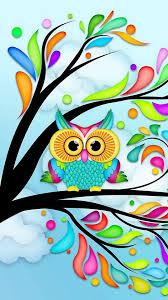 cute owl wallpaper picserio
