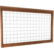 Unbranded 4 Ft X 6 Ft Madison Park Panel Hog Fence Madpark The Home Depot