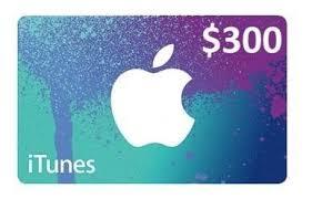 apple itunes gift card 300 usa