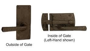 Gate Latch Chart 360 Yardware