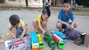 learn toy car name/bé huy tv/bé huy học tên xe đồ chơi/đồ chơi trẻ em cho bé  - YouTube