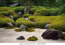 traditional japanese rock garden zen