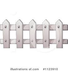 Fence Clipart 1123910 Illustration By Graphics Rf