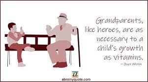 joyce allston quotes on grandparents and children abrainyquote