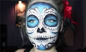 sugar skull makeup looks for halloween
