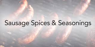 sausage es and seasonings