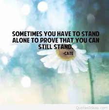 beling alone quotes