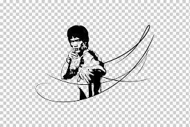 Sticker Decal Kung Fu Long Beach International Karate Championships Cartoon Bruce Lee Miscellaneous White Hand Png Klipartz
