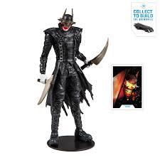 McFarlane Toys DC Multiverse (3 Of 3) Collector Edition Build-a-batmobile The  Batman Who Laughs Deluxe 7