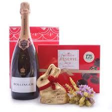 bollinger bunny gift set wine gift