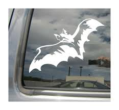 Flying Bat Vampire Gothic Car Bumper Laptop Window Vinyl Decal Sticker 01278 For Sale Online
