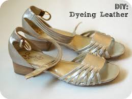leather dying diy
