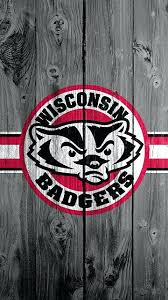 wisconsin badgers logo wallpaper