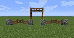 Minecraft Build Inspiration Furniture Friday 3 Fences