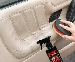 what can i clean leather seats with