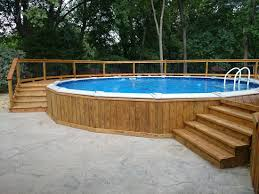 Above Ground Pool Deck Ideas Designs Pictures Pressure Treated Pine Decks Com