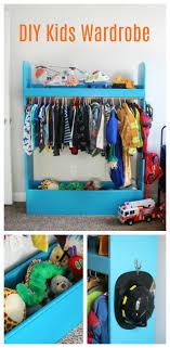 Diy Kids Wardrobe Closet For Dress Up Or Storage Gluesticks Blog