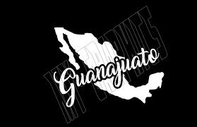Guanajuato Mexico White Vinyl Decal For Window Car 8 Ebay