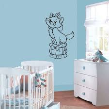 Shop Wall Mural Vinyl Sticker Decal Small Cat Bow Poof Sticker Decal Size 22x35 Color Black Free Shipping On Orders Over 45 Overstock 13706988