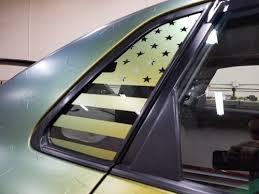 Mexican Flag Quarter Window Decal 2015 2020 Wrx Sti Jdmfv Fanatic Wraps