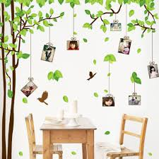 Large Family Tree Wall Decals You Can Place Photos Around The Tree