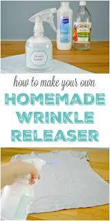 homemade wrinkle releaser spray