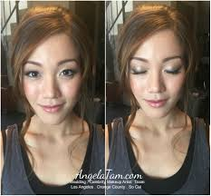 korean wedding makeup artist orange