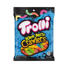 trolli sour brite crawlers gummy