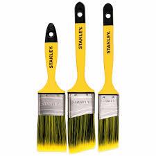 Stanley Angle Sash Paint Brush 3pc Brushes Mitre 10